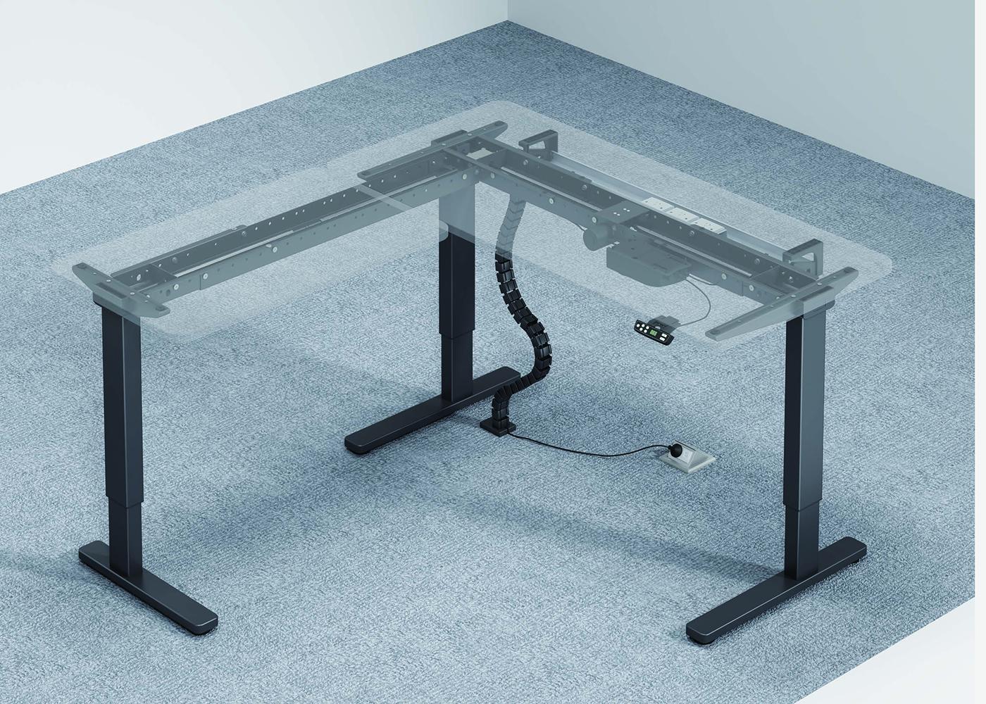 米克智能升降桌A06,上海智能升降桌,【尺寸 价格 图片 品牌】