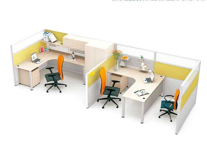 亚莱克屏风办公桌A03,上海屏风办公桌,【尺寸 价格 图片 品牌