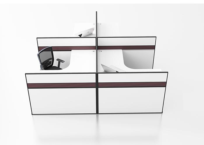 格莱特屏风办公桌C04,上海屏风办公桌,【尺寸 价格 图片 品牌
