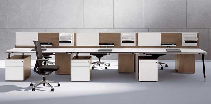 亚莱克屏风办公桌A104