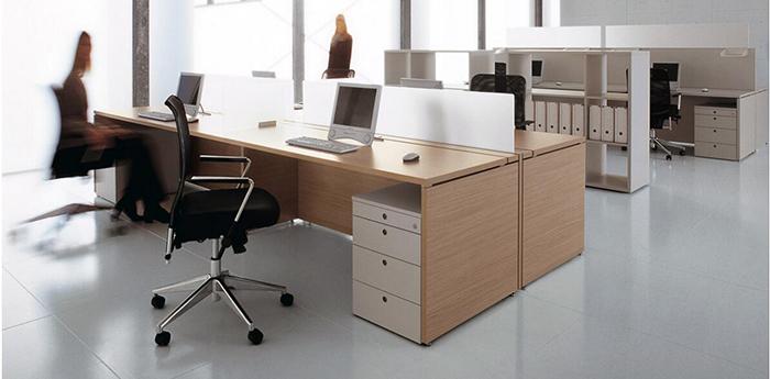 亚莱克屏风办公桌A102