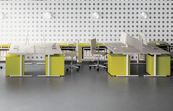 亚莱克屏风办公桌A108