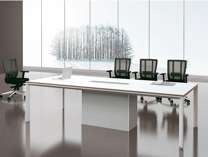 迈亚M系列白色会议桌