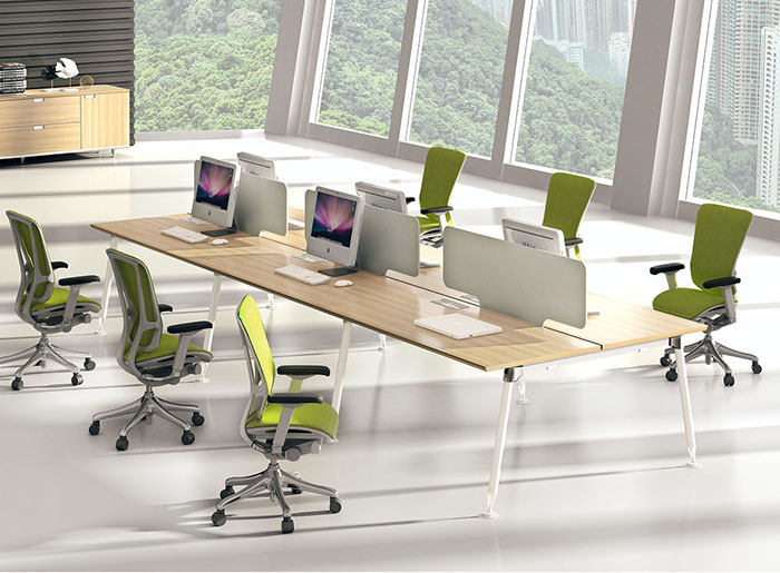 迈亚凯亚绿色直面办工桌