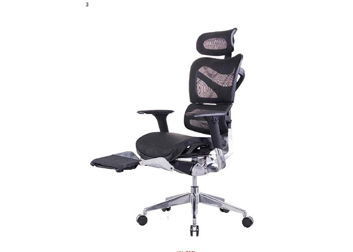 办公桌椅人体工学设计—职员办公网椅